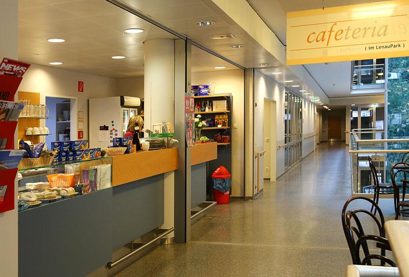 Haus Sonnenhof Lenaupark, Cafe